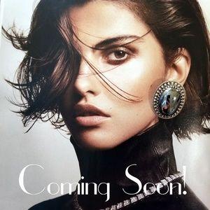 Vintage Hematite Earrings - COMING SOON